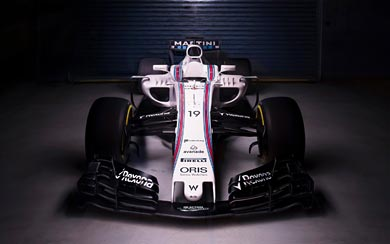 2017 Williams FW40 wallpaper thumbnail.