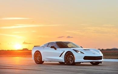 2014 Hennessey HPE500 Corvette Stingray wallpaper thumbnail.