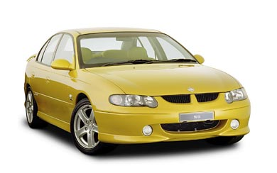 2000 Holden Commodore SS wallpaper thumbnail.
