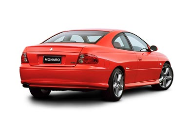 2001 Holden Monaro CV8 wallpaper thumbnail.