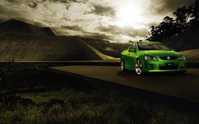 2007 Holden VE Ute SSV wallpaper thumbnail.