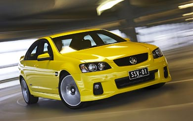 2010 Holden Commodore SS-V wallpaper thumbnail.