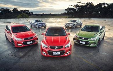 2015 Holden Commodore SSV wallpaper thumbnail.