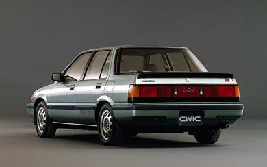 1984 Honda Civic Si wallpaper thumbnail.