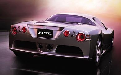 2003 Honda HSC Concept wallpaper thumbnail.