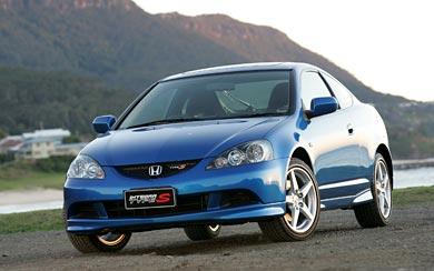 2004 Honda Integra Type S wallpaper thumbnail.