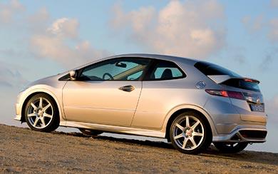 2007 Honda Civic Type R wallpaper thumbnail.