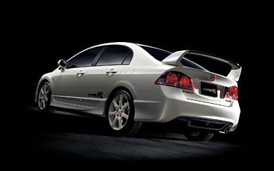 2007 Honda Civic Type R Sedan wallpaper thumbnail.