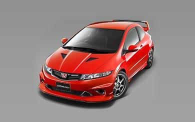 2009 Honda Civic Type R Prototype by Mugen wallpaper thumbnail.