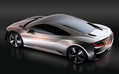2012 Honda NSX Concept wallpaper thumbnail.