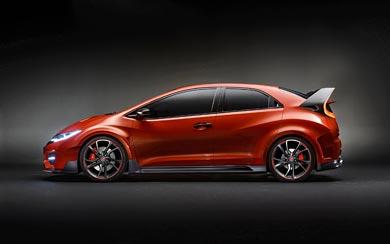 2014 Honda Civic Type R Concept wallpaper thumbnail.