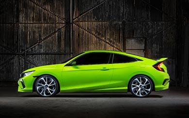 2015 Honda Civic Concept wallpaper thumbnail.