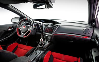 2015 Honda Civic Type R wallpaper thumbnail.