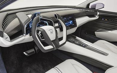 2015 Honda FCV Concept wallpaper thumbnail.