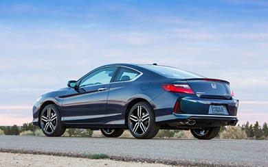 2016 Honda Accord Touring Coupe wallpaper thumbnail.