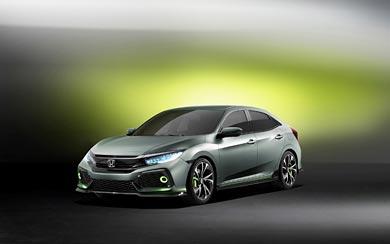 2016 Honda Civic Hatchback Prototype wallpaper thumbnail.