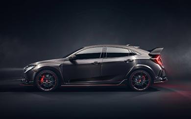 2016 Honda Civic Type R Concept wallpaper thumbnail.