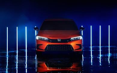 2020 Honda Civic Prototype wallpaper thumbnail.