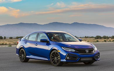 2020 Honda Civic Si wallpaper thumbnail.