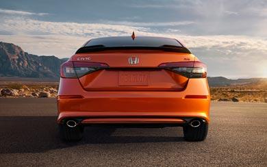 2022 Honda Civic Si wallpaper thumbnail.