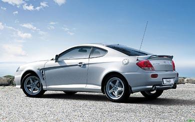 2005 Hyundai Coupe wallpaper thumbnail.