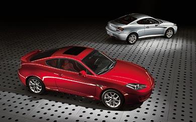 2007 Hyundai Coupe wallpaper thumbnail.