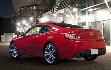 2011 Hyundai Genesis Coupe R-Spec wallpaper thumbnail.