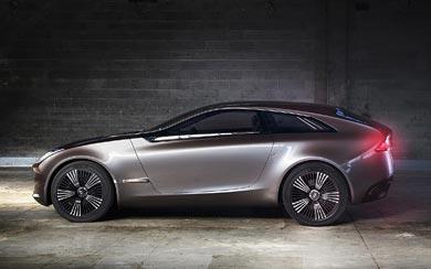 2012 Hyundai i-ioniq Concept wallpaper thumbnail.