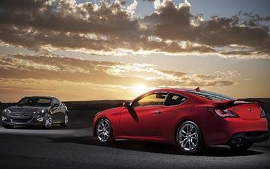 2013 Hyundai Genesis Coupe wallpaper thumbnail.