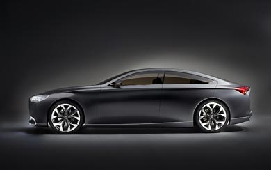 2013 Hyundai HCD-14 Genesis Concept wallpaper thumbnail.
