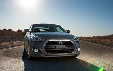 2013 Hyundai Veloster Turbo wallpaper thumbnail.