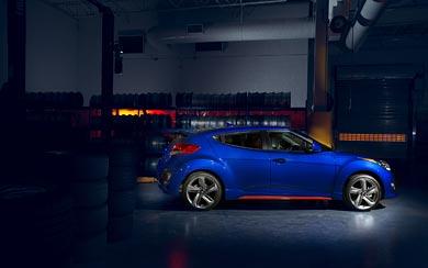 2014 Hyundai Veloster Turbo R-Spec wallpaper thumbnail.