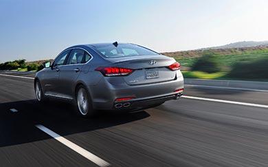 2015 Hyundai Genesis wallpaper thumbnail.