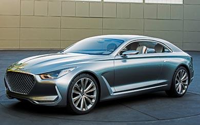 2015 Hyundai Vision G Concept wallpaper thumbnail.