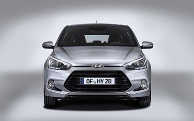 2015 Hyundai i20 Coupe wallpaper thumbnail.