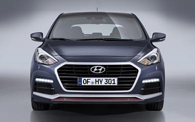 2015 Hyundai i30 Turbo wallpaper thumbnail.