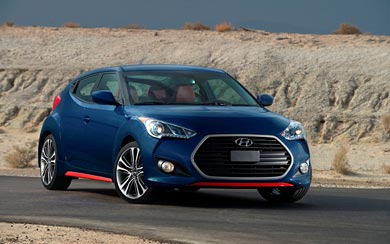 2016 Hyundai Veloster wallpaper thumbnail.