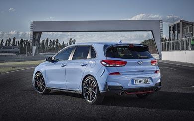 2018 Hyundai i30 N wallpaper thumbnail.