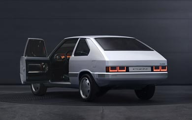 2021 Hyundai Pony Concept wallpaper thumbnail.