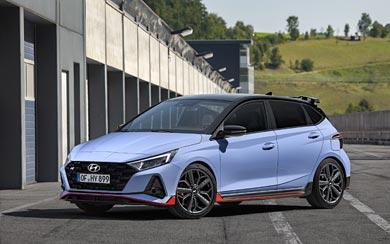2021 Hyundai i20 N wallpaper thumbnail.