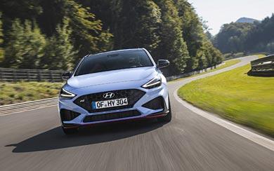 2021 Hyundai i30 N wallpaper thumbnail.