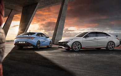 2022 Hyundai Elantra N wallpaper thumbnail.