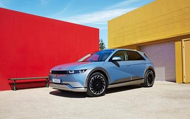 2022 Hyundai Ioniq 5 wallpaper thumbnail.