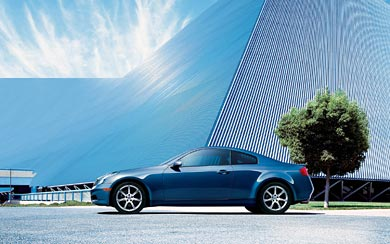 2005 Infiniti G35 Coupe wallpaper thumbnail.