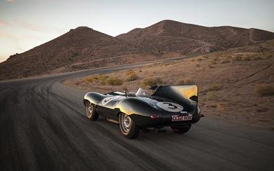 1955 Jaguar D-Type wallpaper thumbnail.