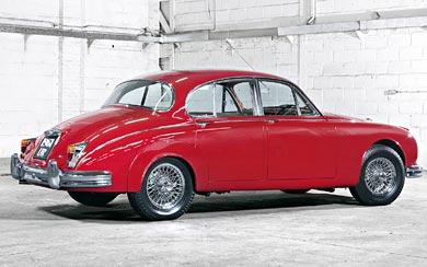 1959 Jaguar Mark 2 wallpaper thumbnail.