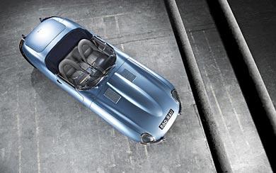1961 Jaguar E-Type wallpaper thumbnail.