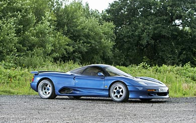 1990 Jaguar XJR-15 wallpaper thumbnail.