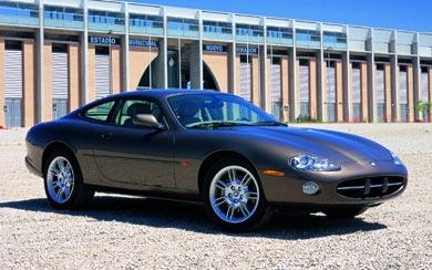 1996 Jaguar XK8 Coupe wallpaper thumbnail.