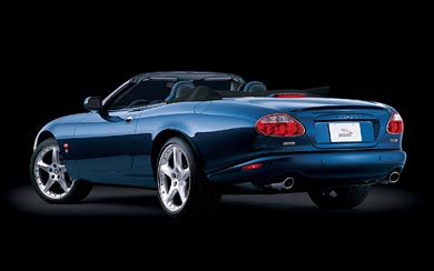2004 Jaguar XKR Portfolio Convertible wallpaper thumbnail.